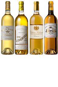 2005 Liquid Gold Assortment (24 x 375ml) Sauternes (6 ea Rie, Sud, T-B, D-V)