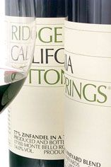 2009 Ridge Lytton Springs, Sonoma County, California
