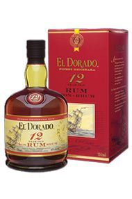 El Dorado, 12-year-old, Guyana Rum (40%)
