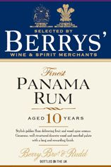 Berrys' Own Panama Rum, 10 Year Old