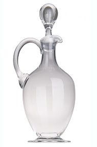 Berry Bros. & Rudd Claret Jug with Handle, Magnum Size