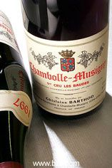 1999 Chambolle-Musigny, Les Baudes, Domaine G. Barthod