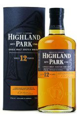 Highland Park 12 Year Old, Orkney, Single Malt Scotch Whisky, 40%