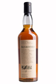 Benrinnes, 15-year-old, Speyside Single Malt Scotch Whisky (43%)