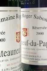 2001 Châteauneuf-du-Pape, Cuvée Reserve Domaine Roger Sabon