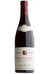 2001 Gevrey-Chambertin, Cazetiers, 1er Domaine Christian Serafin
