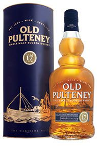 Old Pulteney 17-year-old, Highland, Single Malt Whisky, 46.0%