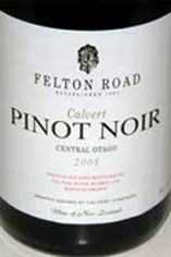 2007 Felton Road Calvert Pinot Noir, C.Otago