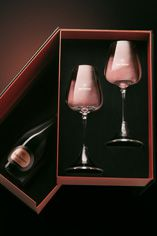 1996 Dom Ruinart Rosé Revelation, Gift Pack with 2 Glasses