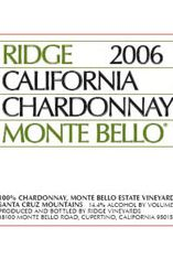2006 Ridge Monte Bello Chardonnay, California