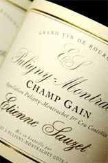2008 Puligny-Montrachet, Champ-Canet, 1er Cru, Domaine Etienne Sauzet
