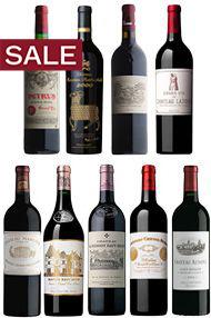 2000 Bordeaux Premier Cru, Assortment Case (9 Btl)