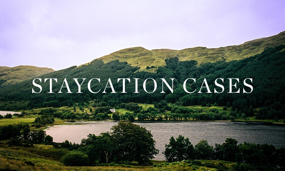 A range of Staycation Cases, ready to be delivered directly to your UK holiday destination at Berry Bros. & Rudd