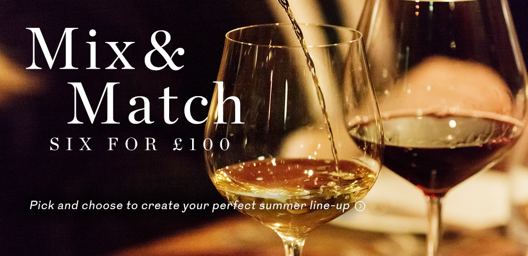 Choose 6 wines for £100 at Berry Bros. & Rudd