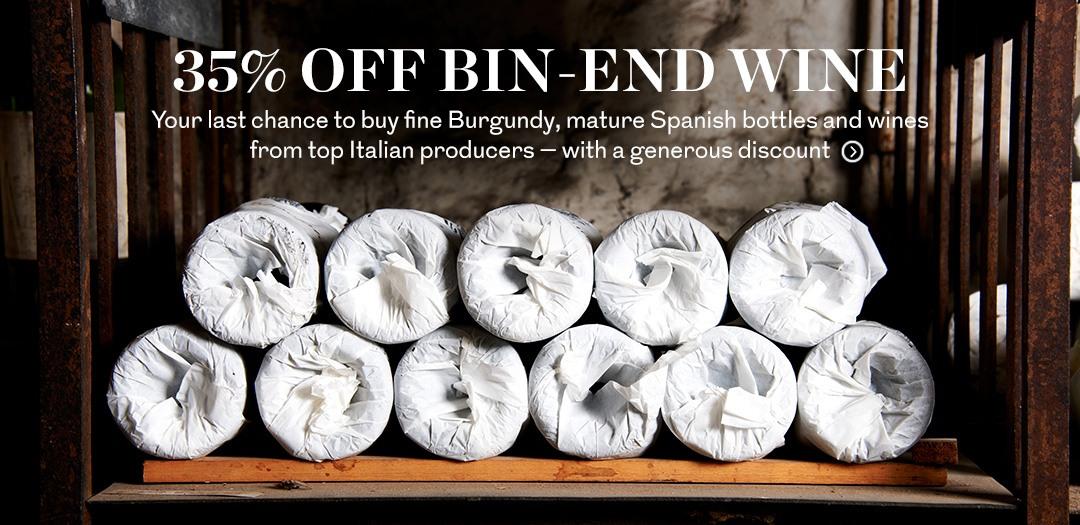 35% off Bin Ends
