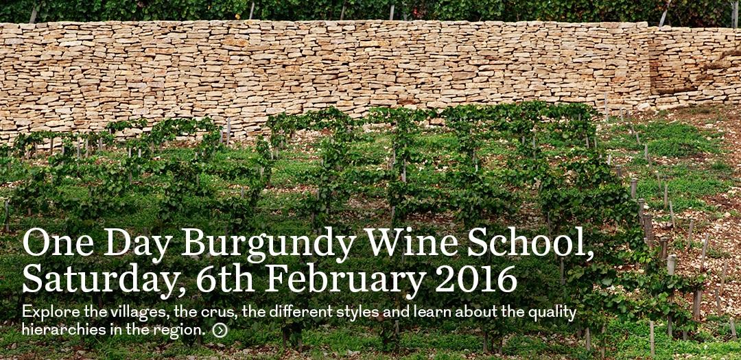 Burgundy wine school - London - Berry Bros. & Rudd