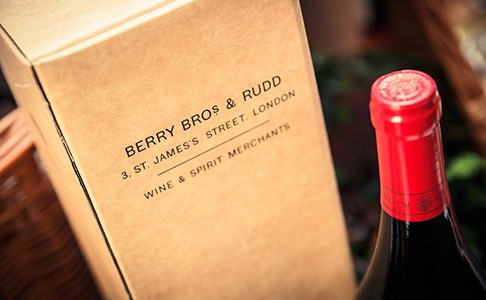 Wine gifts available at Berry Bros. & Rudd.